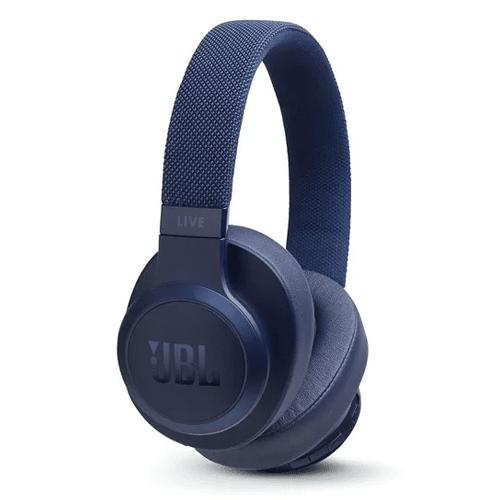 سماعة الرأس اللاسلكية لايف 500 بي تي من جي بي ال -  ازرق
