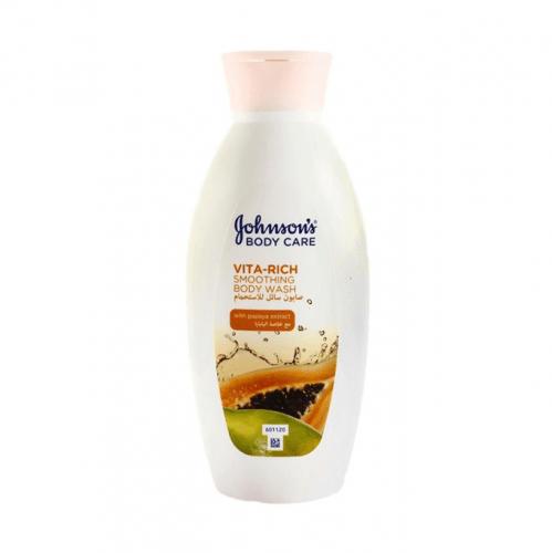 صابون سائل للاستحمام فيتا رتش مع خلاصة البابايا من جونسون - 250 مل
